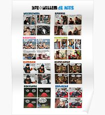Ype+Willem poster - De hits Poster