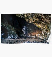 Under Tintagel Castle Poster
