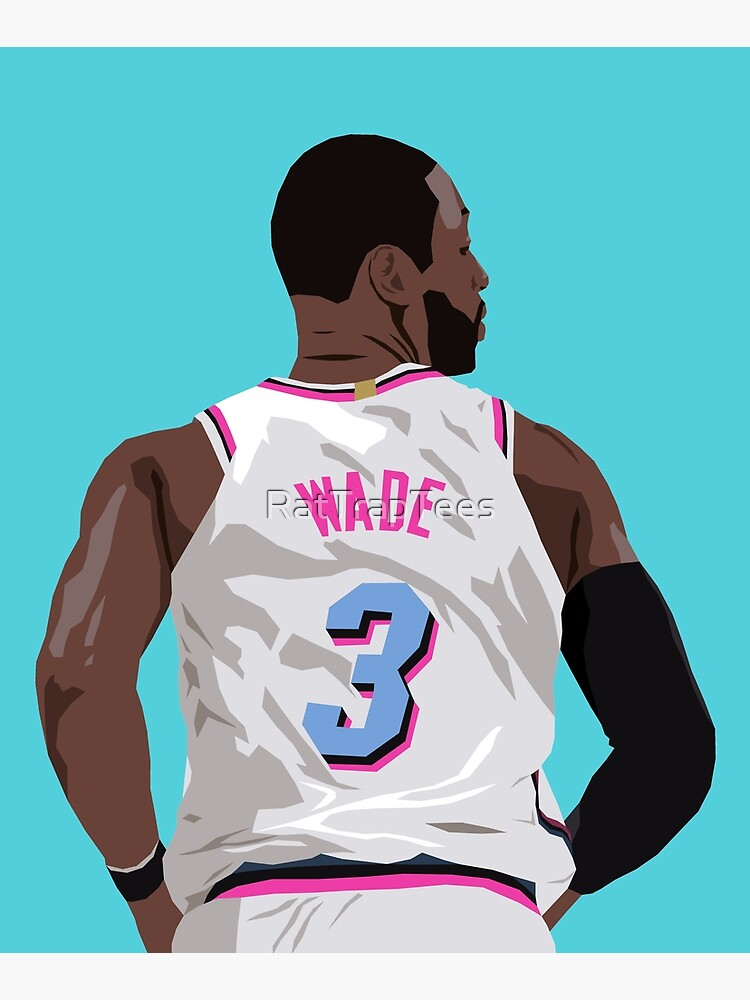 Dwyane Wade Back-To by RatTrapTees
