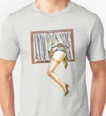 Window girl Unisex T-Shirt