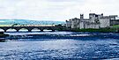 King Johns's Castle on the River Shannon by Yukondick