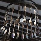 Innovative Light Fitting by Sally Haldane