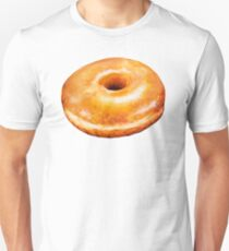 Glazed Donut Pattern Unisex T-Shirt