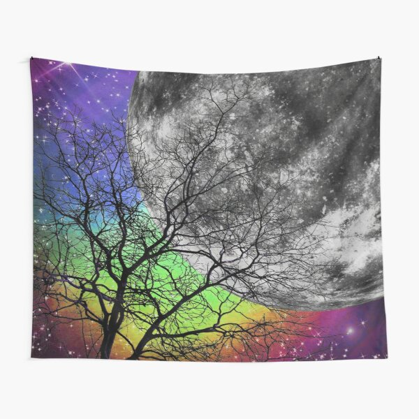 Colourful galaxy Tapestry
