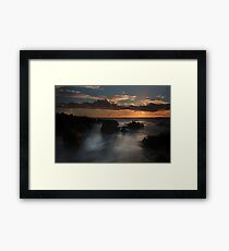 West Cork Sunset- Ireland Framed Print