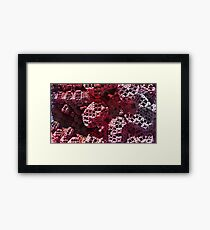 Dive In - Abstract Fractal Framed Print