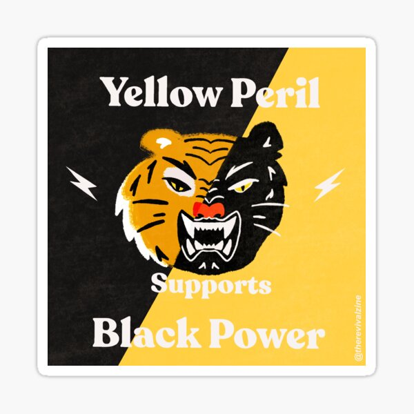 Yellow Peril Supports Black Lives Matter Sticker