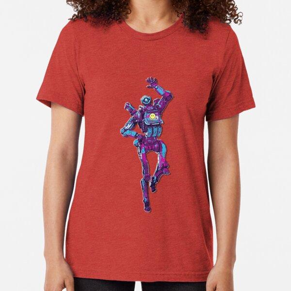Apex Legends - Pathfinder 80s Retro Tri-blend T-Shirt