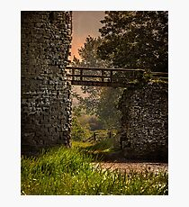 The Bridge Over the Moat Photographic Print