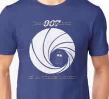 James Bond: Time Lord (dark version) Unisex T-Shirt