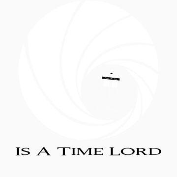 James Bond: Time Lord (dark version) by monkeyminion
