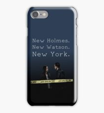 Elementary-New Holmes. New Watson. New York. iPhone Case/Skin