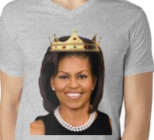 Michelle Obama Mens V-Neck T-Shirt
