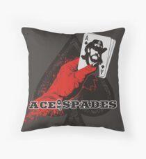 ACE OF SPADES Throw Pillow
