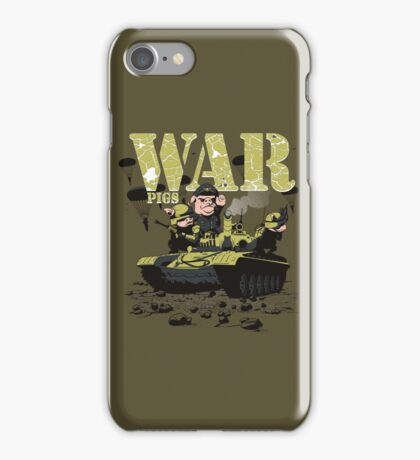 WAR PIGS iPhone Case/Skin