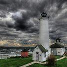 Tibbett's Point Lighthouse by Lori Deiter