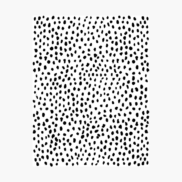 Dalmatian print Photographic Print