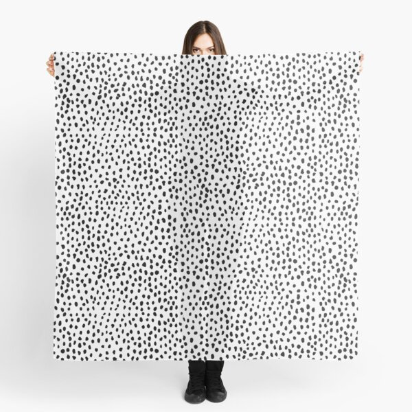 Dalmatian print Scarf
