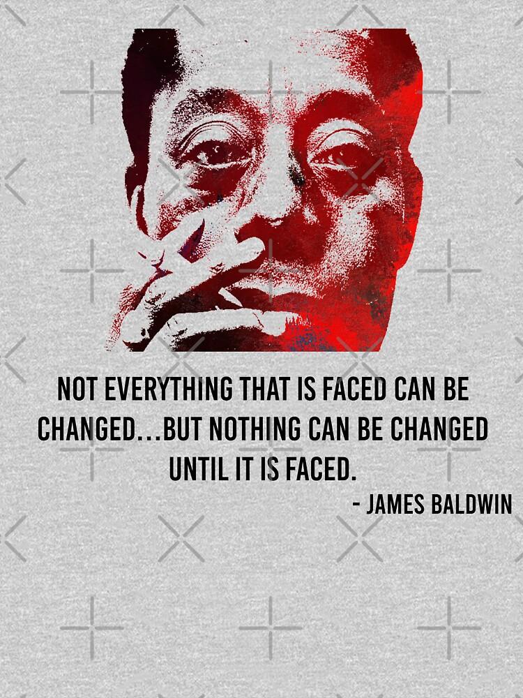 James Baldwin by BensMaskStore