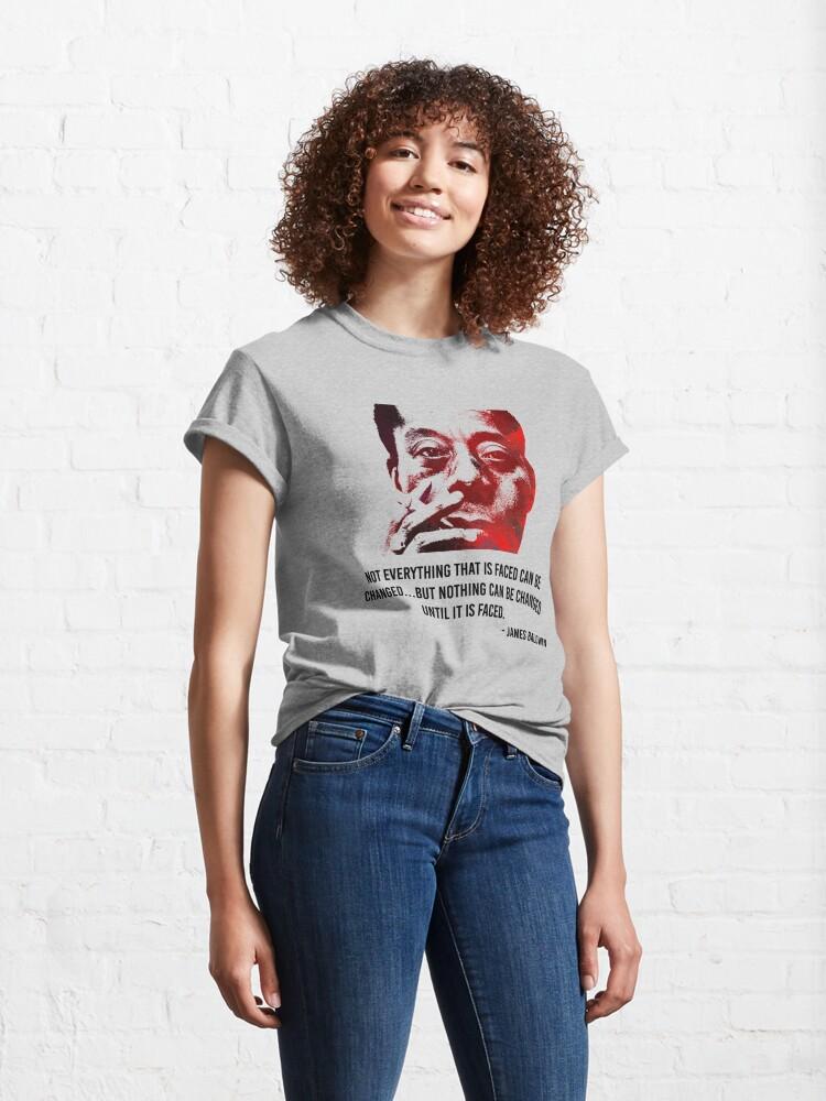 Alternate view of James Baldwin Classic T-Shirt