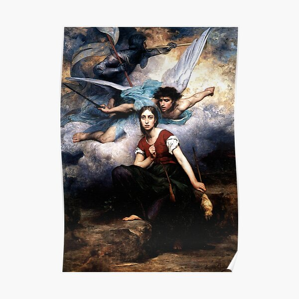 Joan of Arc by Eugène Thirion Poster