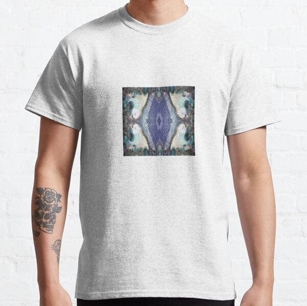 Lilly Pond and Vines in blue by South Australian artist Avril Thomas Classic T-Shirt