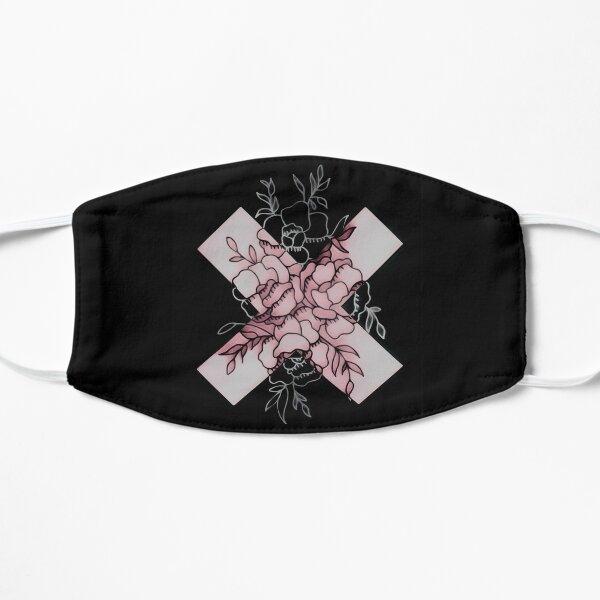 Edgy Roses  Flat Mask