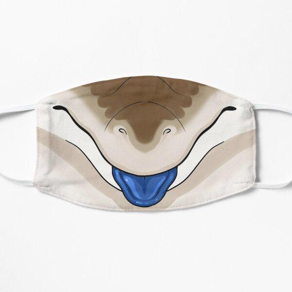Emotive Blue Tongue Skink - Mlem Flat Mask