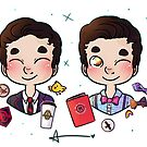5 years of Blaine Anderson by Sunshunes