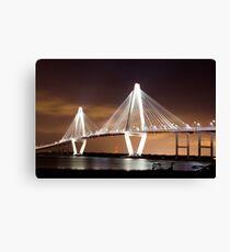 cooper river bridge Canvas Print