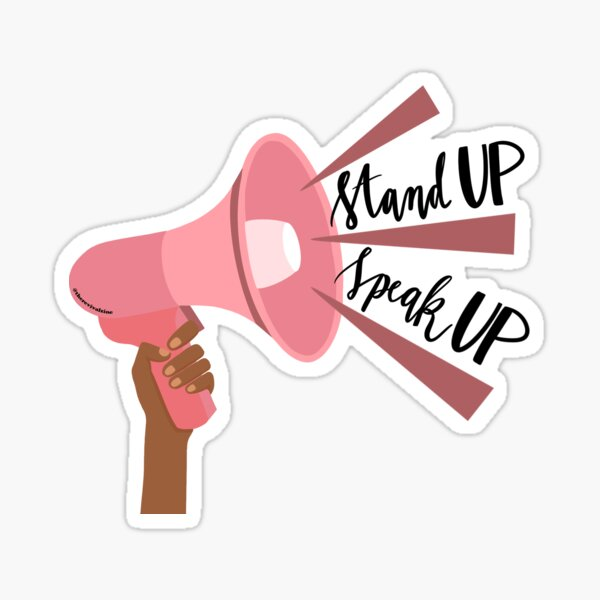 Stand Up, Speak Up: Black Lives Matter Sticker