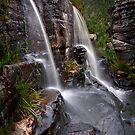 Grampians Waterfall by Peter Hammer