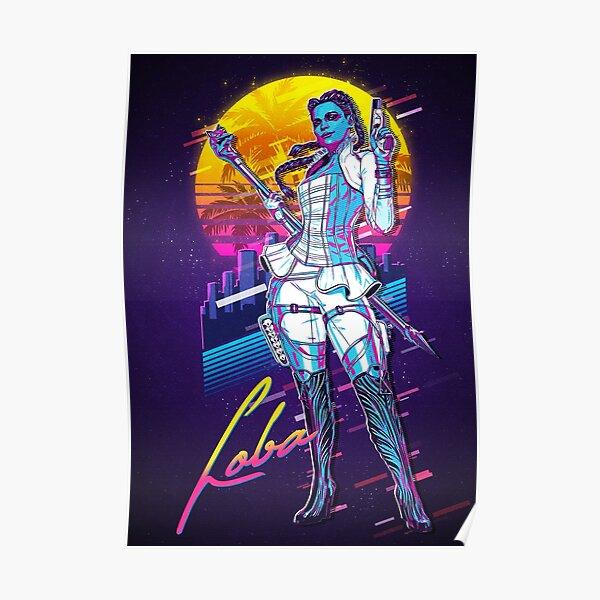 Apex Legends - Rétro Loba des années 80 Poster