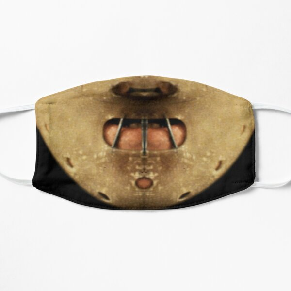 Máscara de Hannibal Lecter Covid Mascarilla plana