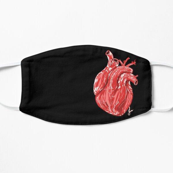 Anatomical heart  Flat Mask