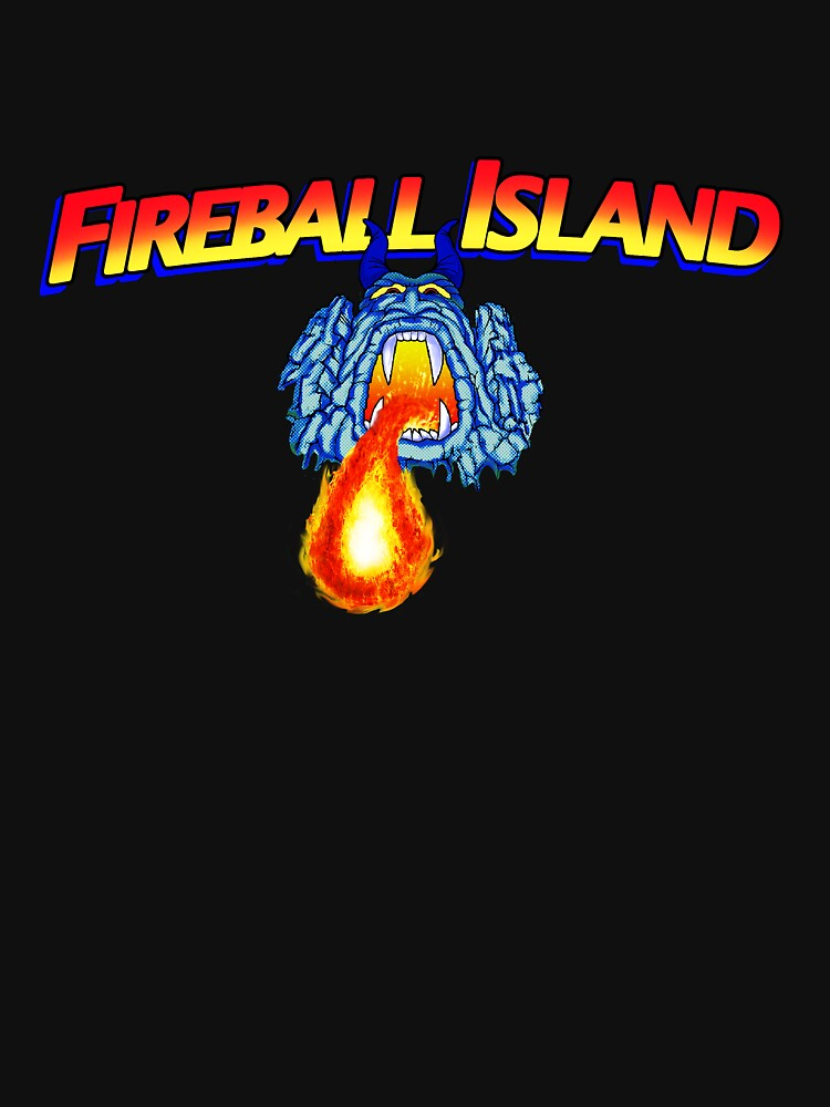 fireball island 80's board game | Unisex T-Shirt