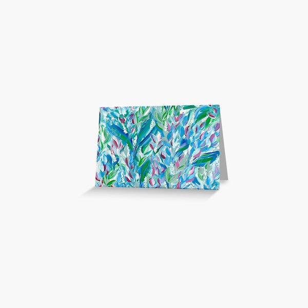 Botanical Splash  Greeting Card