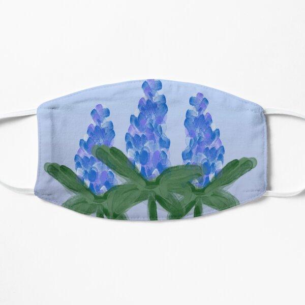 Watercolor Blue Bonnet Flat Mask
