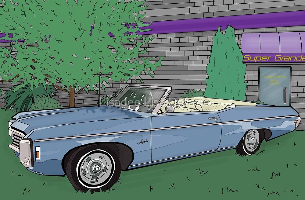 1969 Chevrolet Impala : Fast Cars & Cool Duco by Lisadee Lisa Defazio