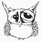 Hangover Owl by annieclayton