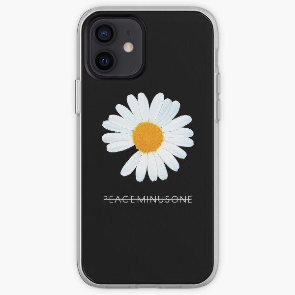 G-Dragon Peaceminusone Daisy Flower (Ania Mardrosyan) iPhone Soft Case