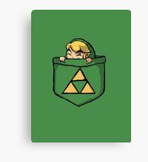 Legend of Zelda - Pocket Link Canvas Print