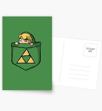 Legend of Zelda - Pocket Link Postcards