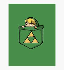 Legend of Zelda - Pocket Link Photographic Print