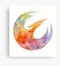 SWR Fire Bird Canvas Print