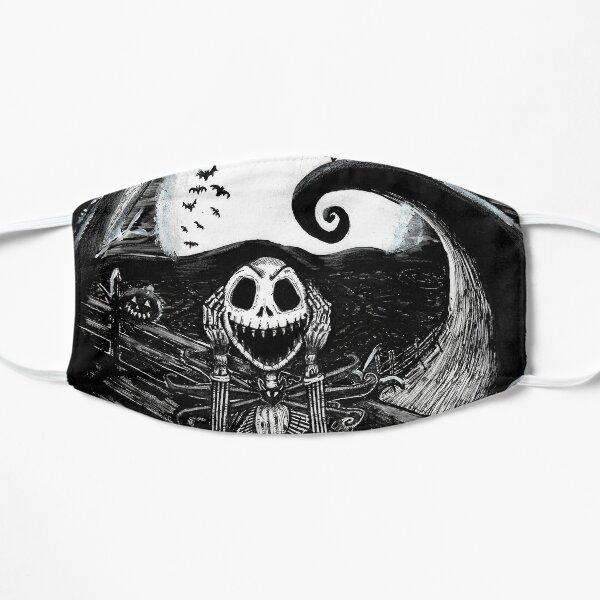 Pumpkin Scream Flat Mask