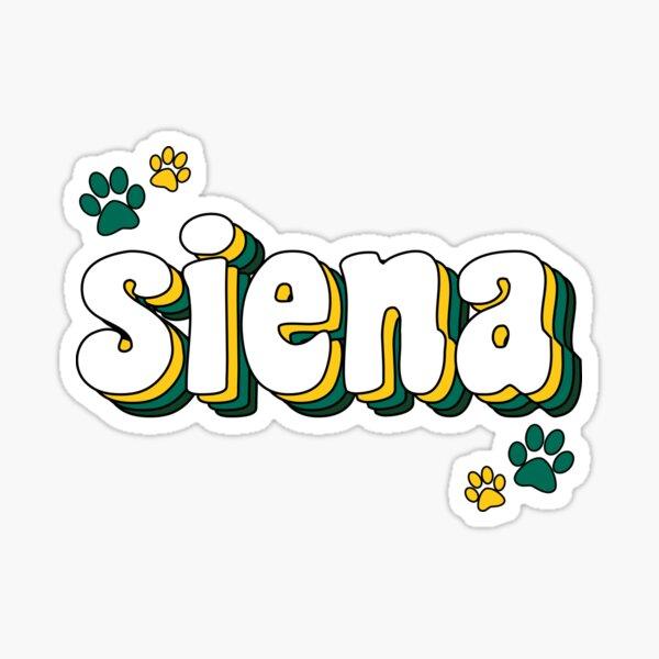 Siena Paws Sticker