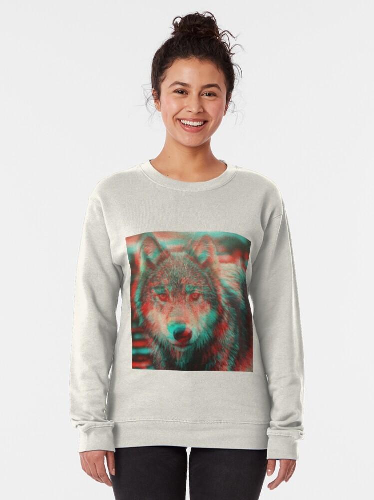 Alternate view of Wolf Pullover Sweatshirt