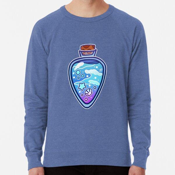 Mermaid Potion Bottle Lightweight Sweatshirt