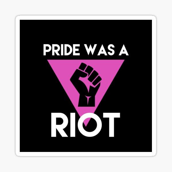 Pride Riot BLM Sticker